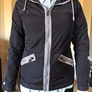 NWT Fresh Produce Anorak Reflective Hooded Jacket